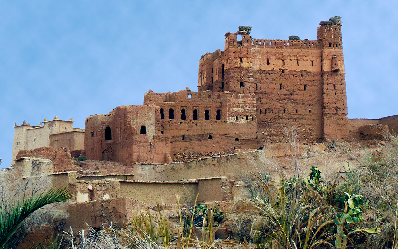Kasbah a Tikirt-Photo G Colletta